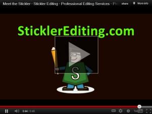 Meet the Stickler - Professional Editor and Proofreader at SticklerEditing.com