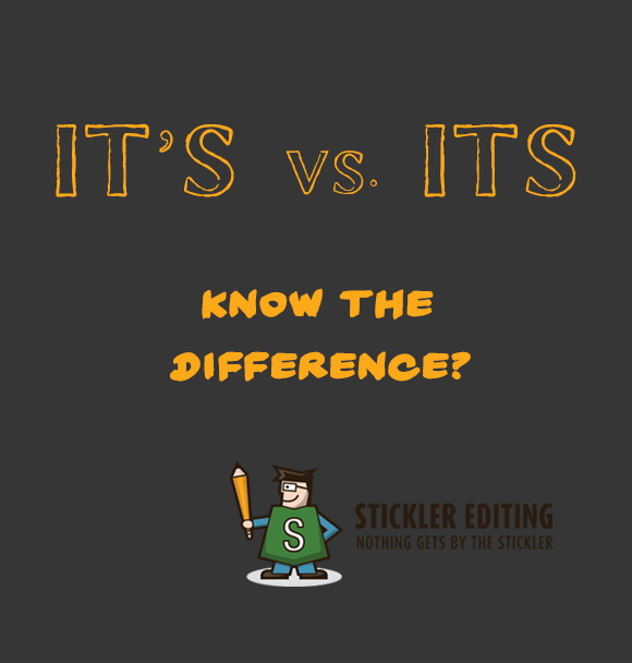 Grammar and Spelling Tips - It's vs Its