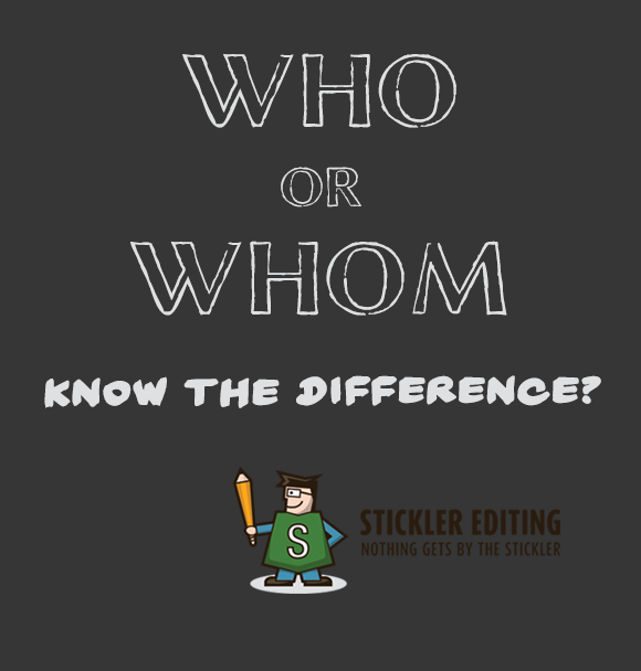Grammar and Spelling Tips - Who or Whom